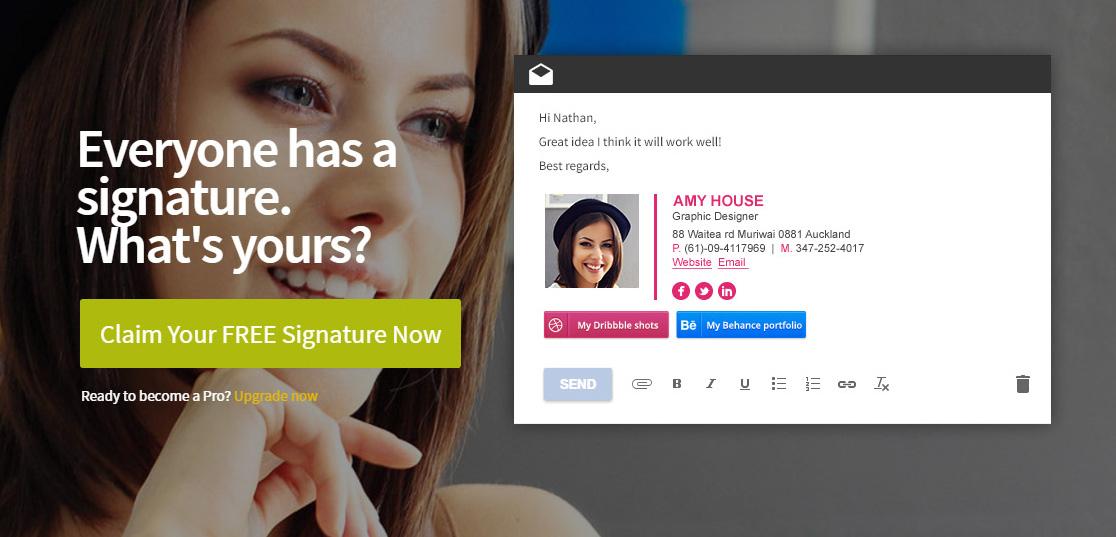 Como criar uma assinatura de e-mail personalizada?