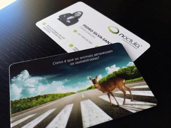 Crie o seu cartão de visita