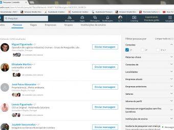 A sua rede de contactos no LinkedIn