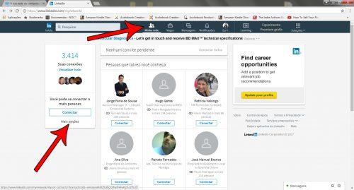 Rede de contactos LinkedIn - img01