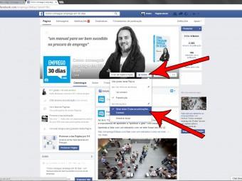 Siga empresas nas redes sociais
