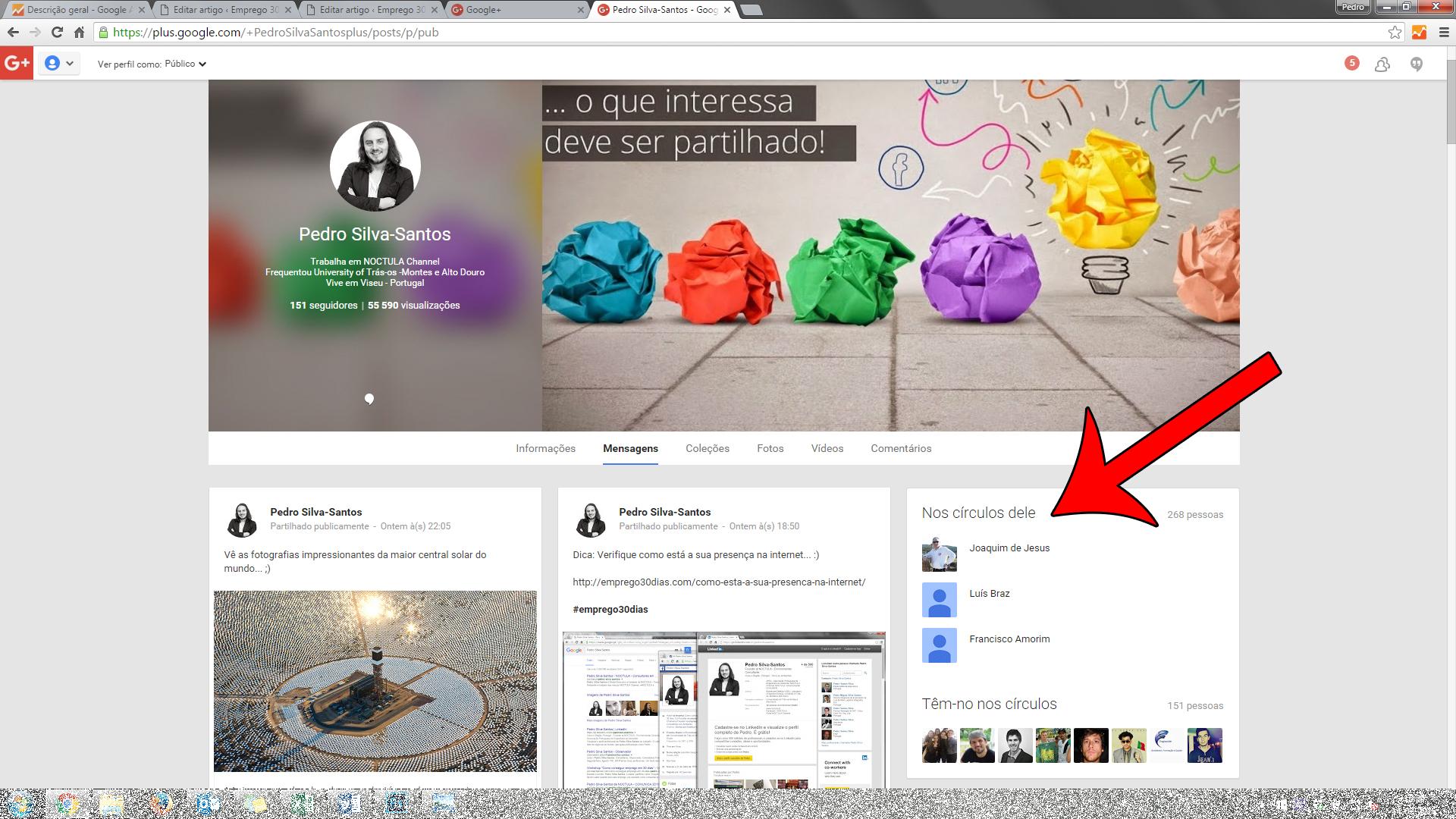 a sua presença no Google+_04