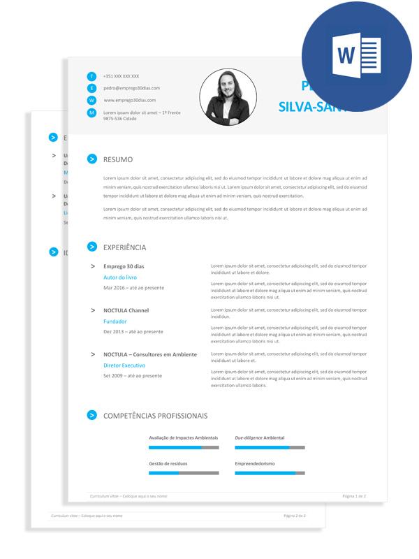 Os Melhores Modelos De Curriculo Em Formato Editavel Emprego 30 Dias