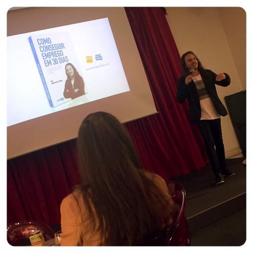 Apresentação do livro Como conseguir emprego em 30 dias - FNAC Viseu