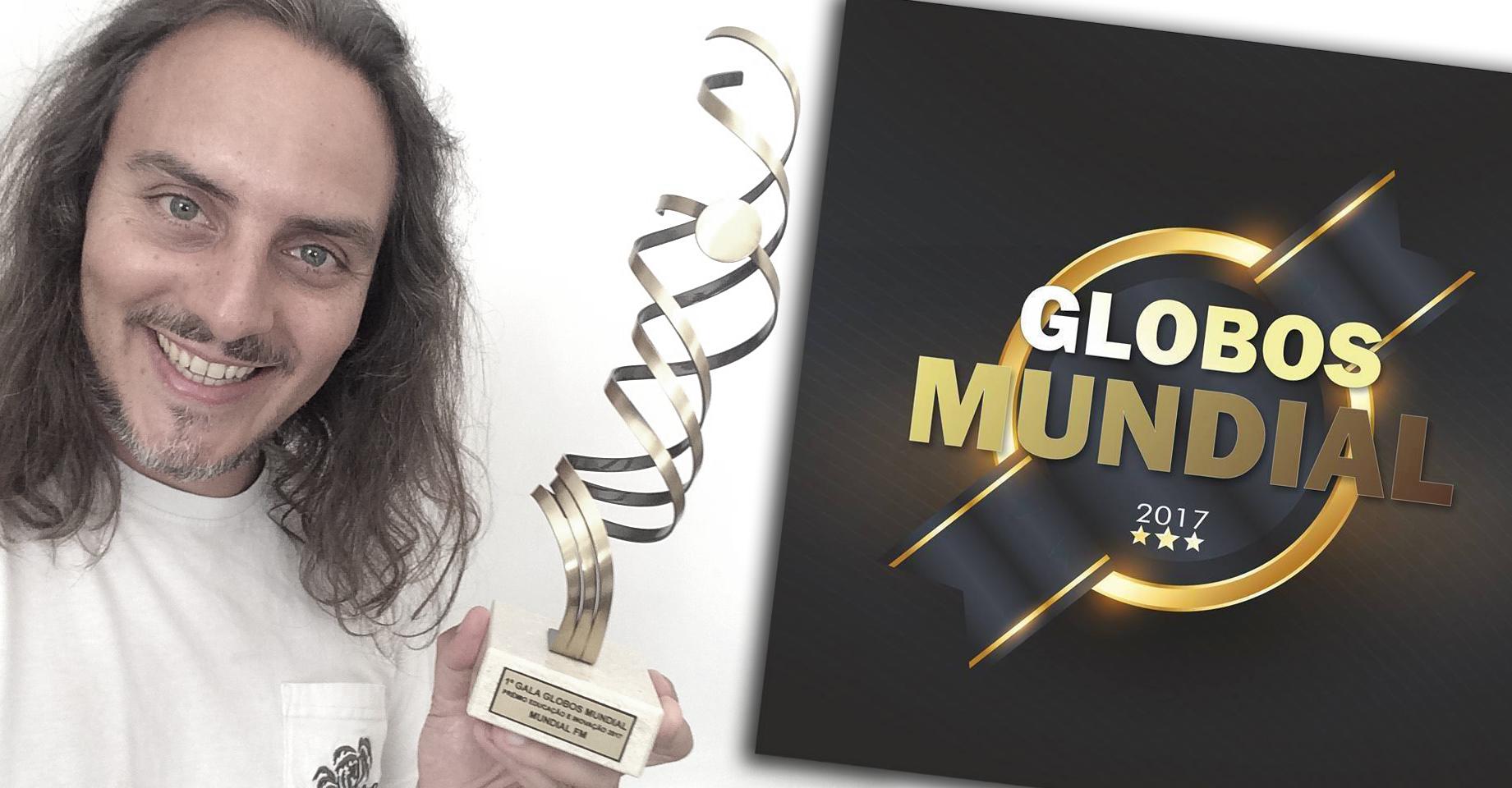 """O prémio e o discurso na """"Gala de Globos Mundial"""""""