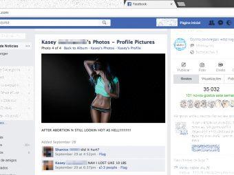 Que tipo de fotografias partilha no Facebook?