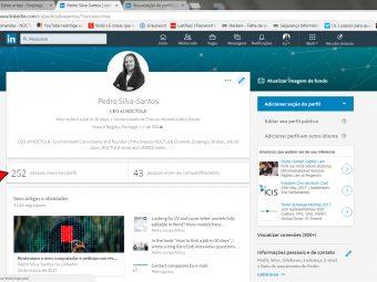 """Para que serve a funcionalidade """"Quem viu o seu perfil?"""" na rede social LinkedIn?"""