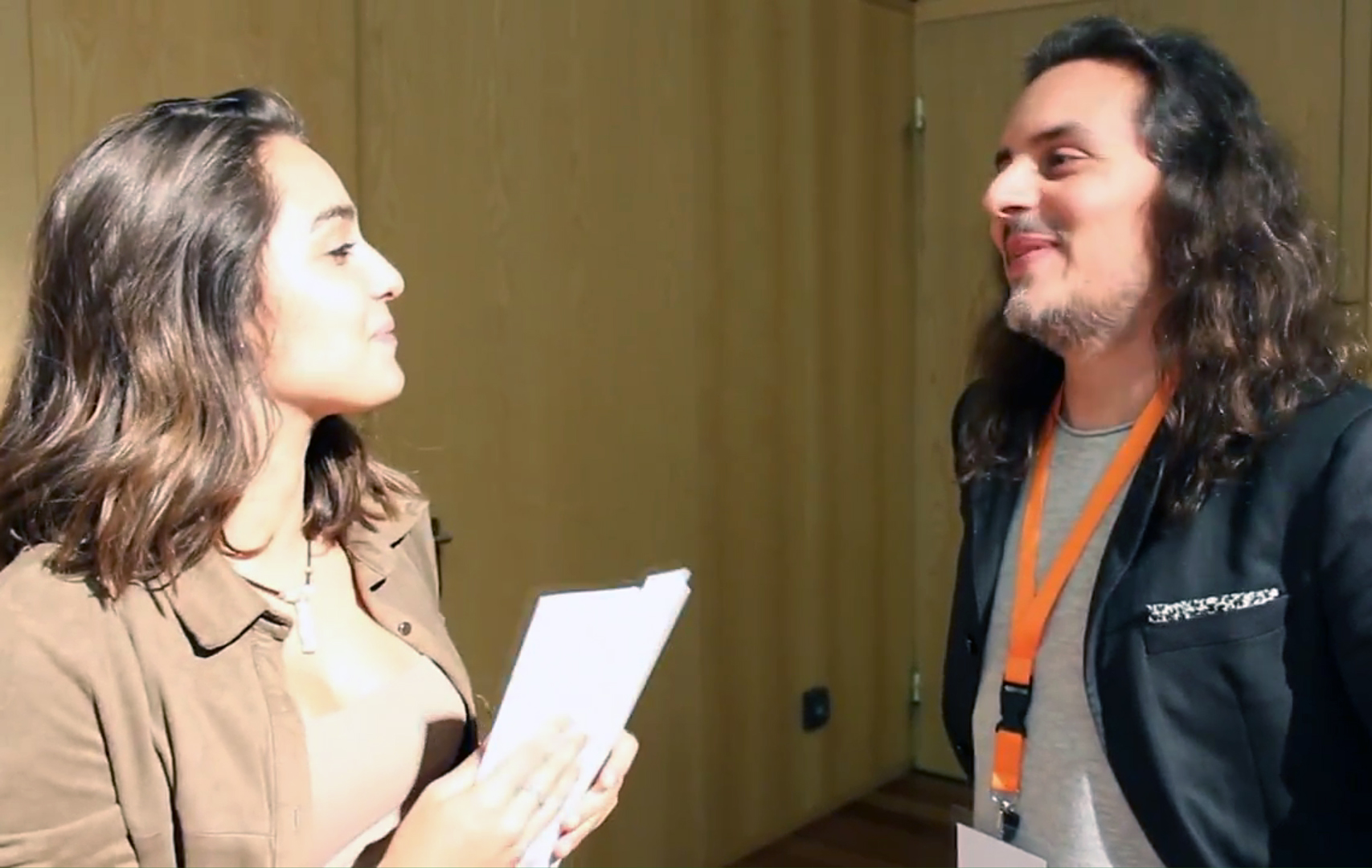 Pedro Silva-Santos e Angie Costa