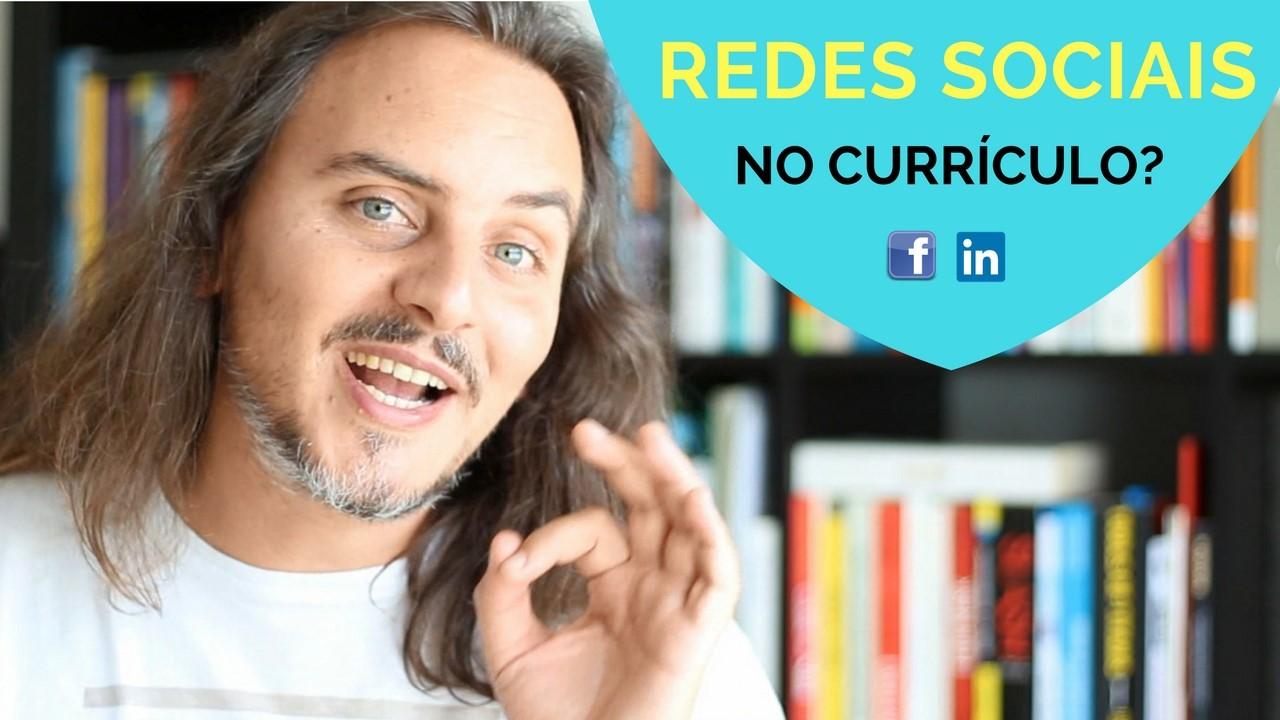 Deve colocar os links das redes sociais no currículo… Sim ou Não?